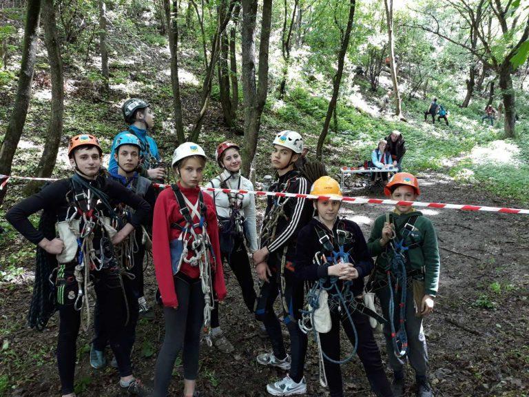 Гуртківці ПНВО взяли участь в  Чемпіонаті області зі спортивного туризму