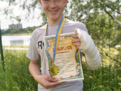 Владислав Мотрій – чемпіон області з спортивного орієнтування