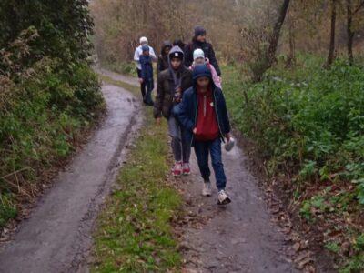 Гуртківці здійснили похід вихідного дня каньйоном річки Смотрич